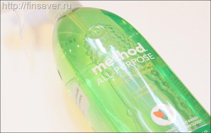 Спрей Method с натуральным ароматом для уборки любых поверхностей.