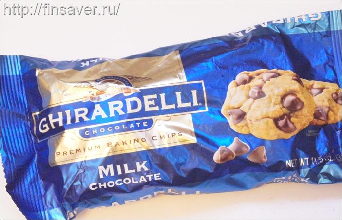 Ghirardelli, Кусочки молочного шоколада для выпечки высшего качества, 326 г дешево органика шруки iherb.com отзывы купон на скидку в 10$ инструкция как сделать заказ акции скидки косметика БАДы витамины