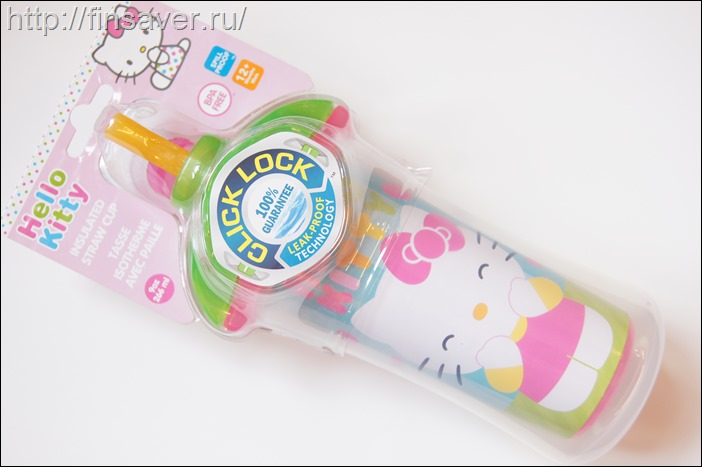Бутылка для детей Hello Kitty.