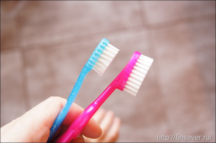 RADIUS, Зубная щетка для детей, Очень мягкая, 6 лет+. Для правой руки, Розовая, 1 зубная щетка дешево органика шруки iherb отзывы купон на скидку в 10$ инструкция как сделать заказ акции скидки косметика БАДы витамины